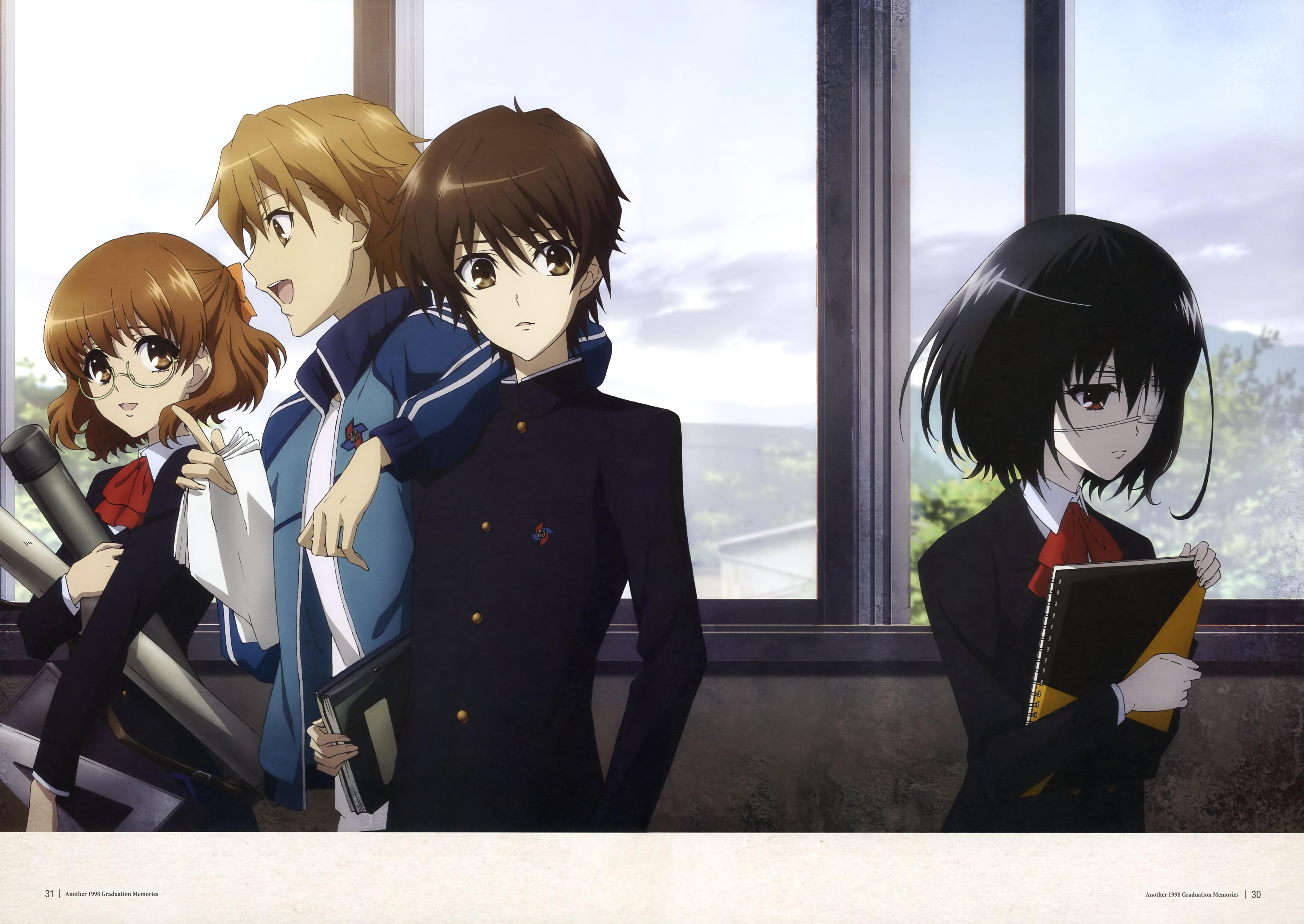 X And Y Anime Characters : Another galería wakaranainofansub